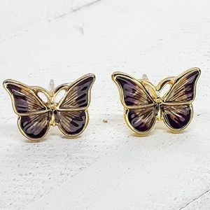 """Midsummer night's dream"" butterfly Earr"
